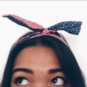 American flag wire headband